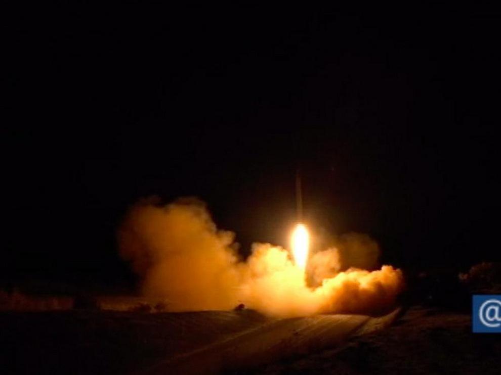 Ataque a la base Al Asad en Irak
