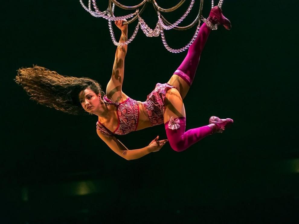 Espectáculo Corteo del Circo del Sol en Zaragoza
