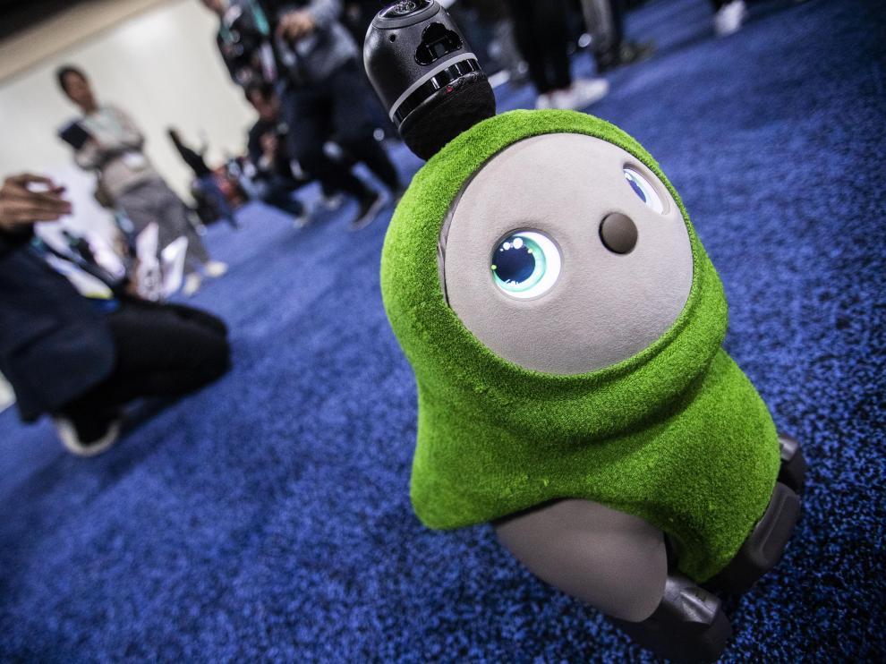 Lovot, el monísimo robot de Groove X que aspira a convertirse en mascota.