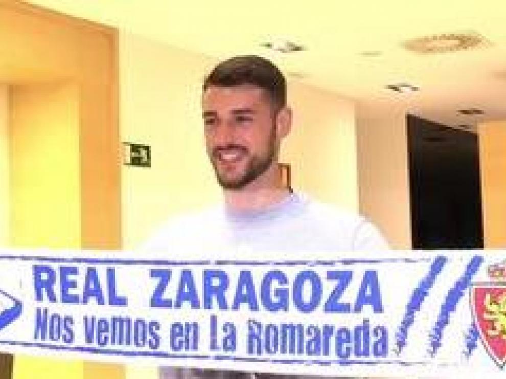 La presentación oficial de André Pereira como nuevo jugador del Real Zaragoza tendrá lugar en los próximos días en en estadio de La Romareda