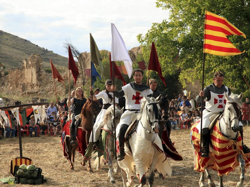 Fiesta de la llegada del CID a el Potyo del Cid. foto Estibaliz centeno. 11-06-11
