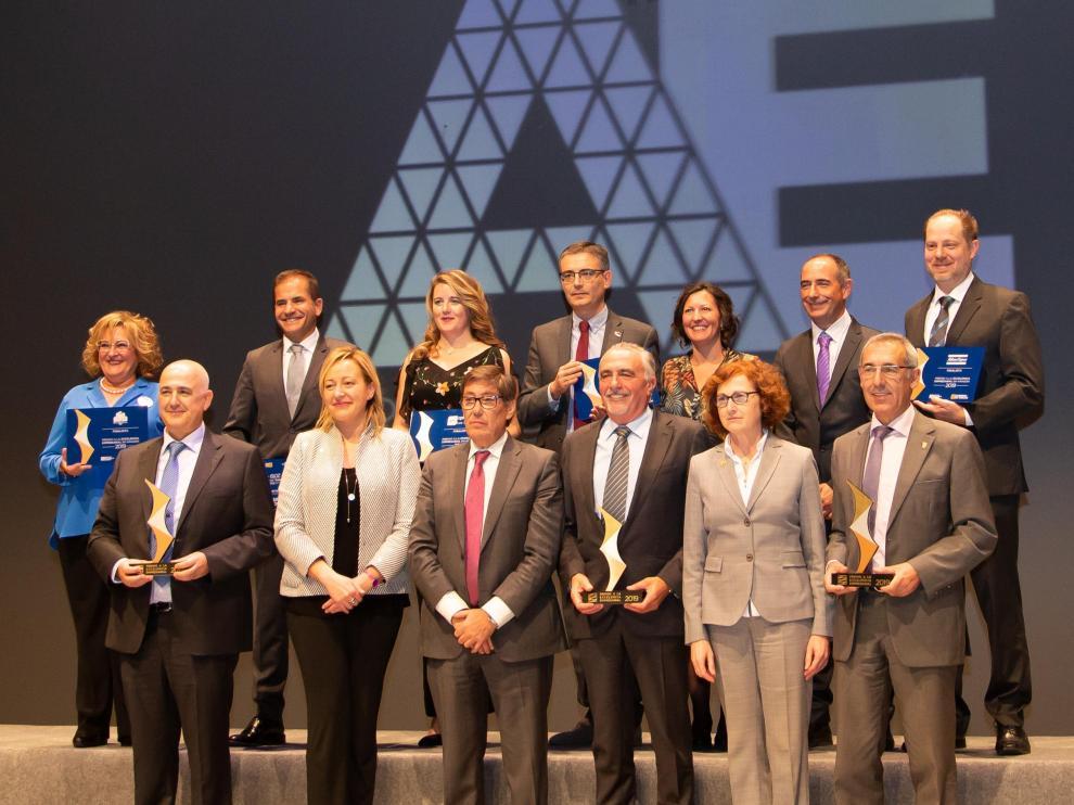 Última entrega de los Premios a la Excelencia Empresarial de Aragón.
