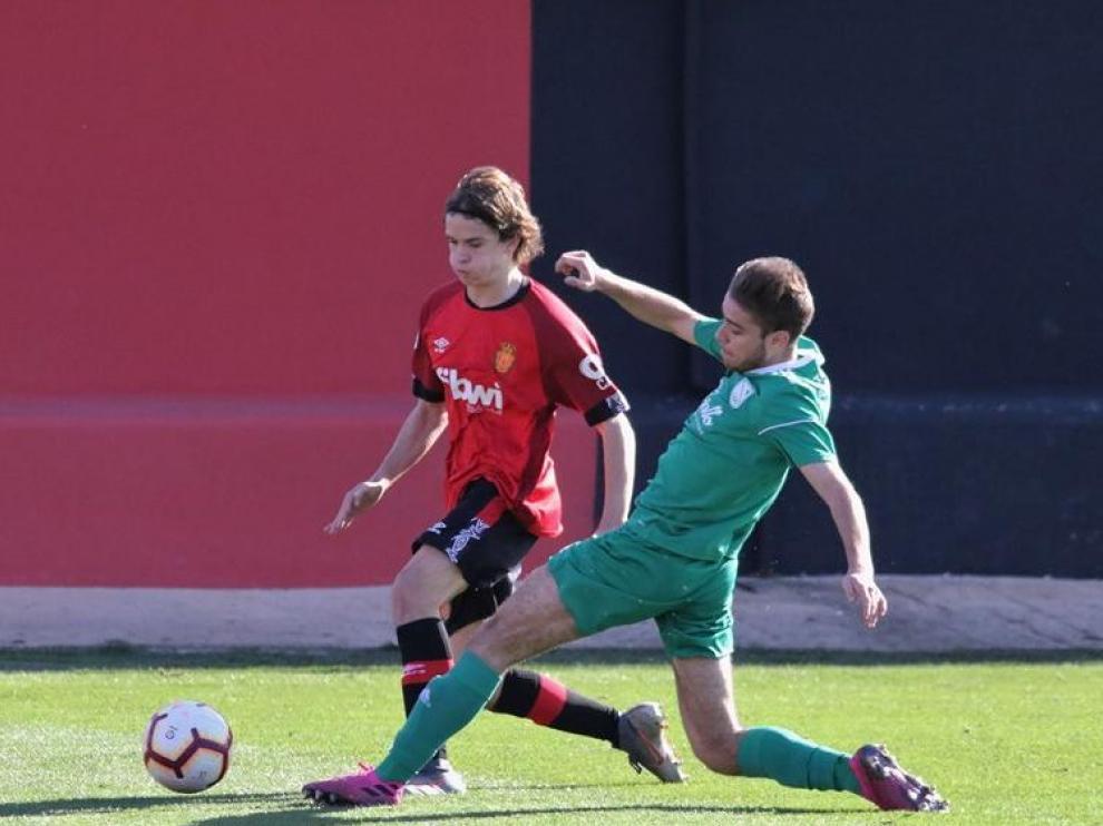 Fútbol. DHJ- RCD Mallorca vs. Stadium Casablanca.