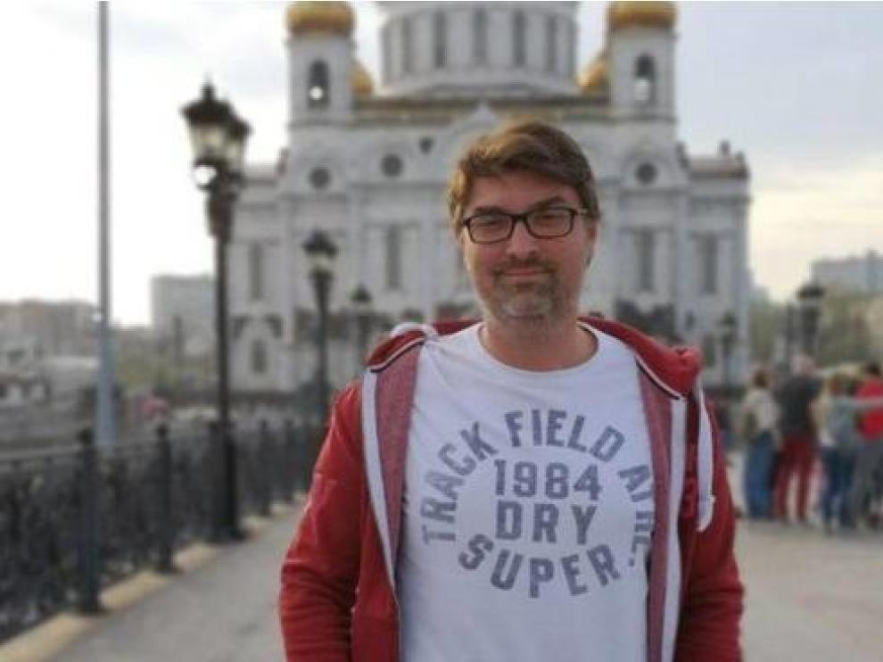 El periodista salmantino Manuel Regalado.