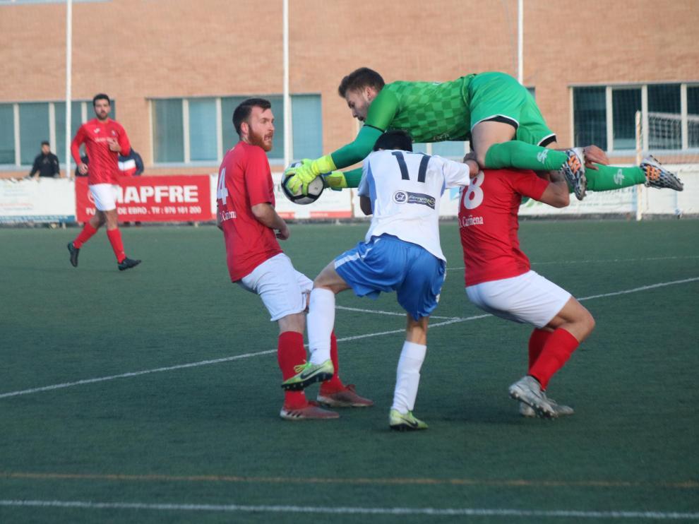 Fútbol. Regional Preferente- Fuentes vs. Cariñena.