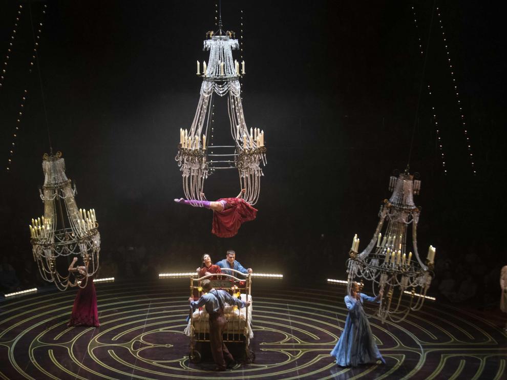 'Corteo', espectáculo del Circo del Sol en Zaragoza