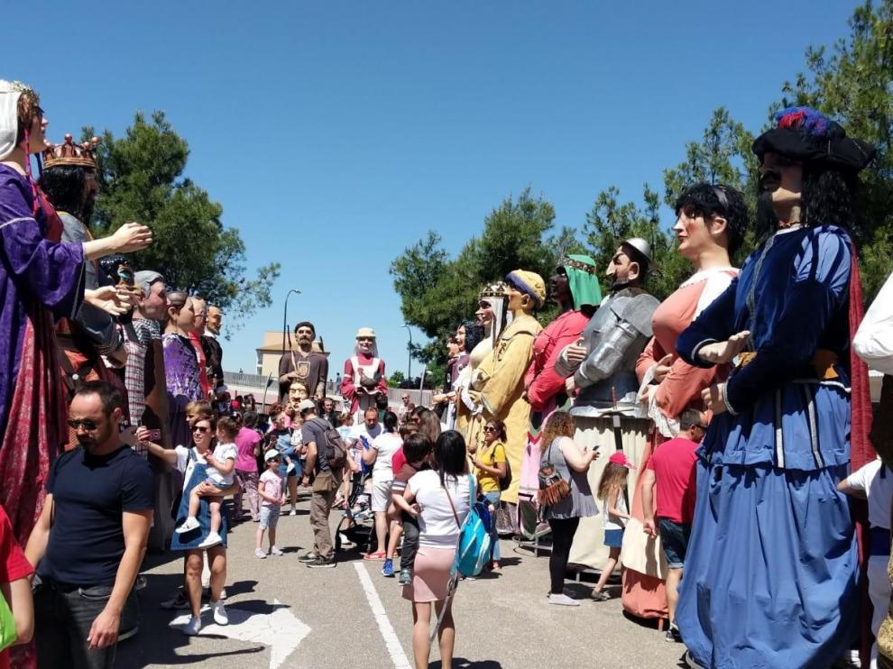 Imagen de archivo de las fiestas en Parque Goya.