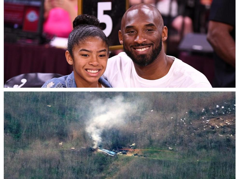 Kobe Bryant y su hija mayor mueren en un accidente de helicóptero