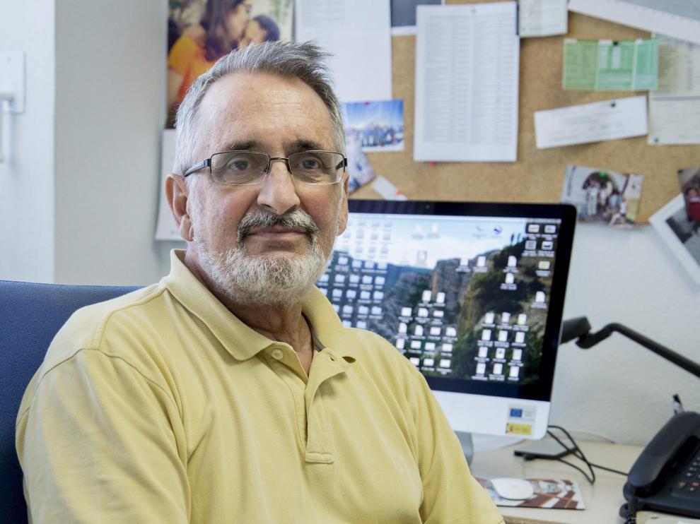 El investigador Víctor Orera, en una imagen de 2017