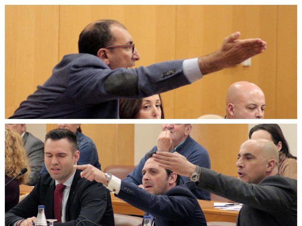 Tensión en la Asamblea de Ceuta