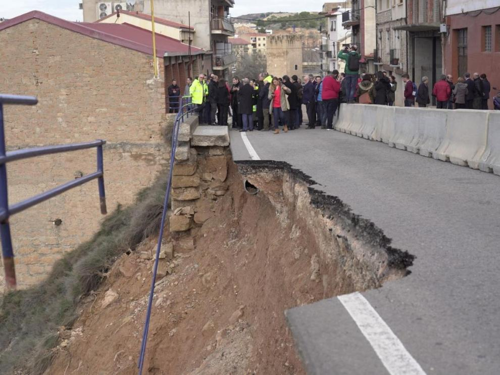 Visita de la ministra de ordenación del territorio a Alcañiz y Monroyo.