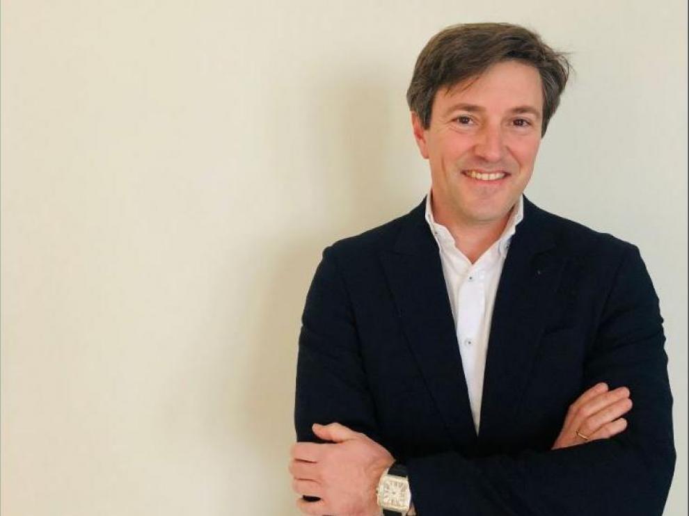 El zaragozano Ánchel Echegoyen, actual presidente de la Federación Aragonesa de Automovilismo