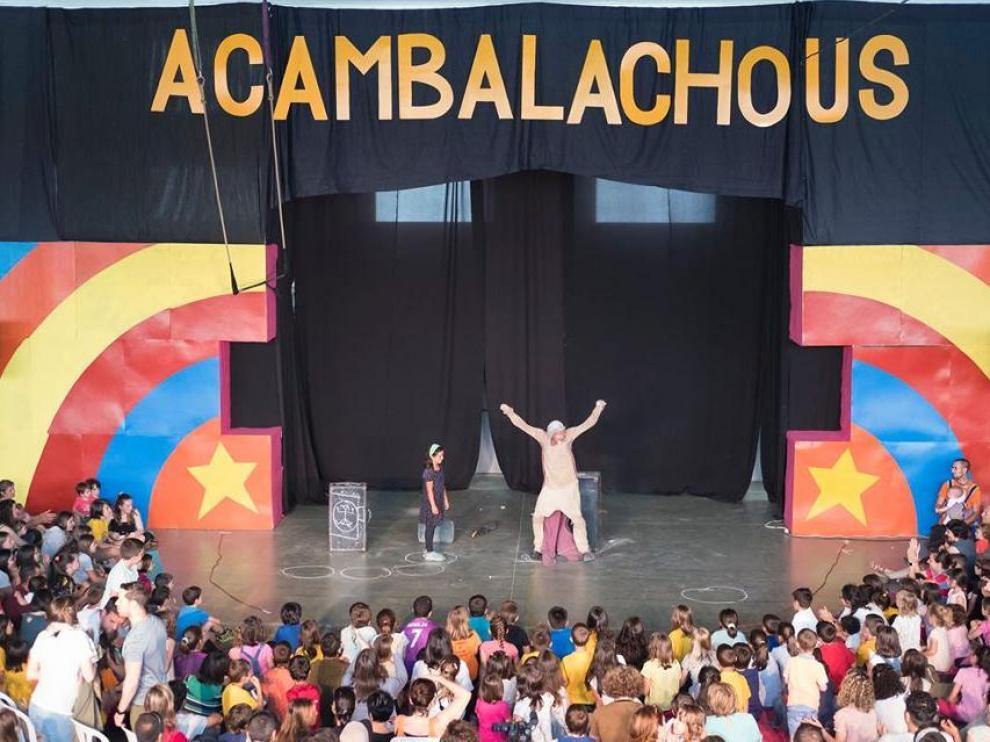 Imagen de una de las actuaciones de la última edición del festival.