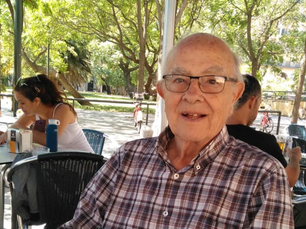 Narciso Ribote García, desaparecido desde el miércoles en la zona de la Expo de Zaragoza.