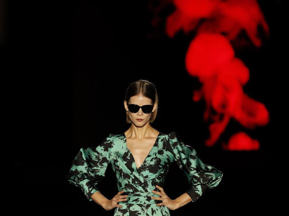 Una de las propuestas de Hannibal Laguna en la Fashion Week de Madrid.