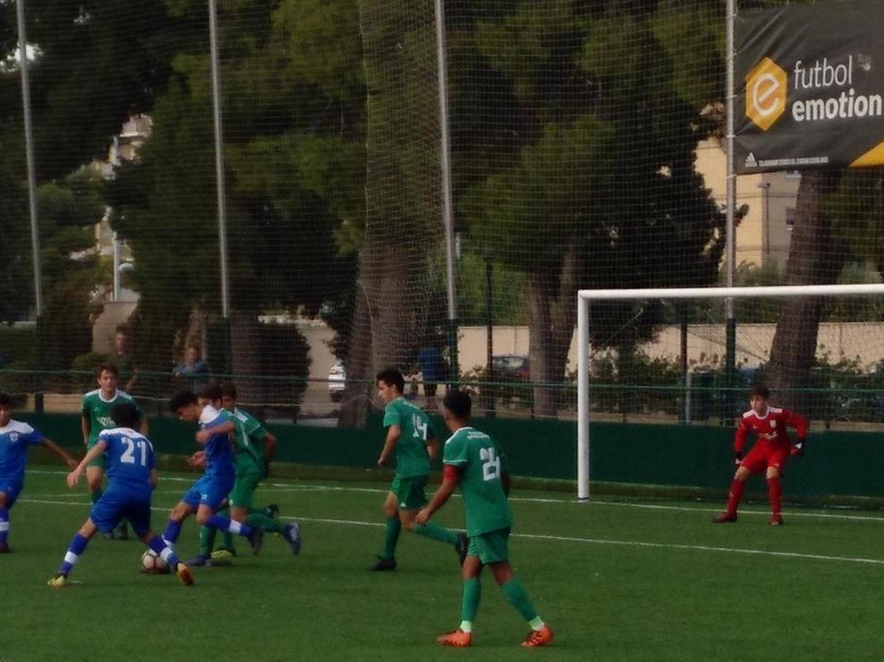 Fútbol. LN Juvenil- Stadium Casablanca vs. Giner.