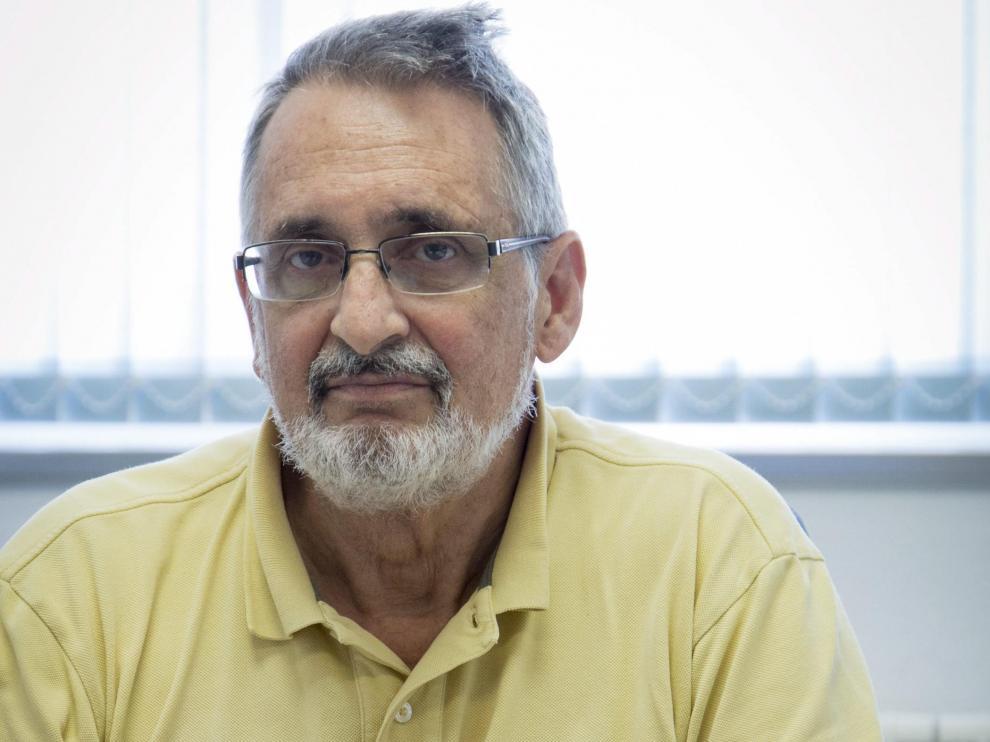 El investigador Víctor Orera, en una imagen de 2017.