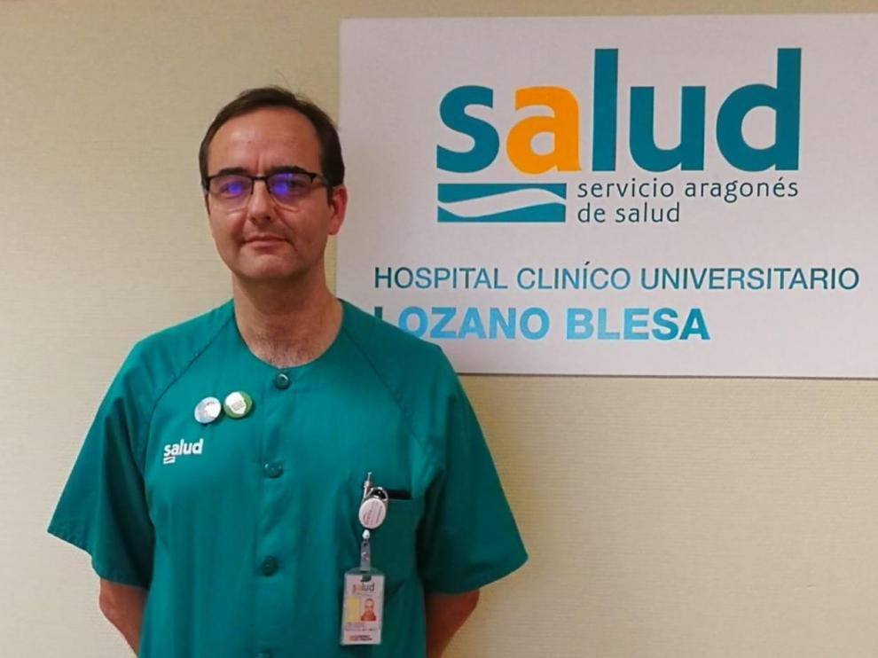 José Ramón Paño, médico experto en enfermedades infecciosas, es el investigador principal del Grupo de Investigación en Enfermedades Infecciosas del Hospital Clínico de Zaragoza.