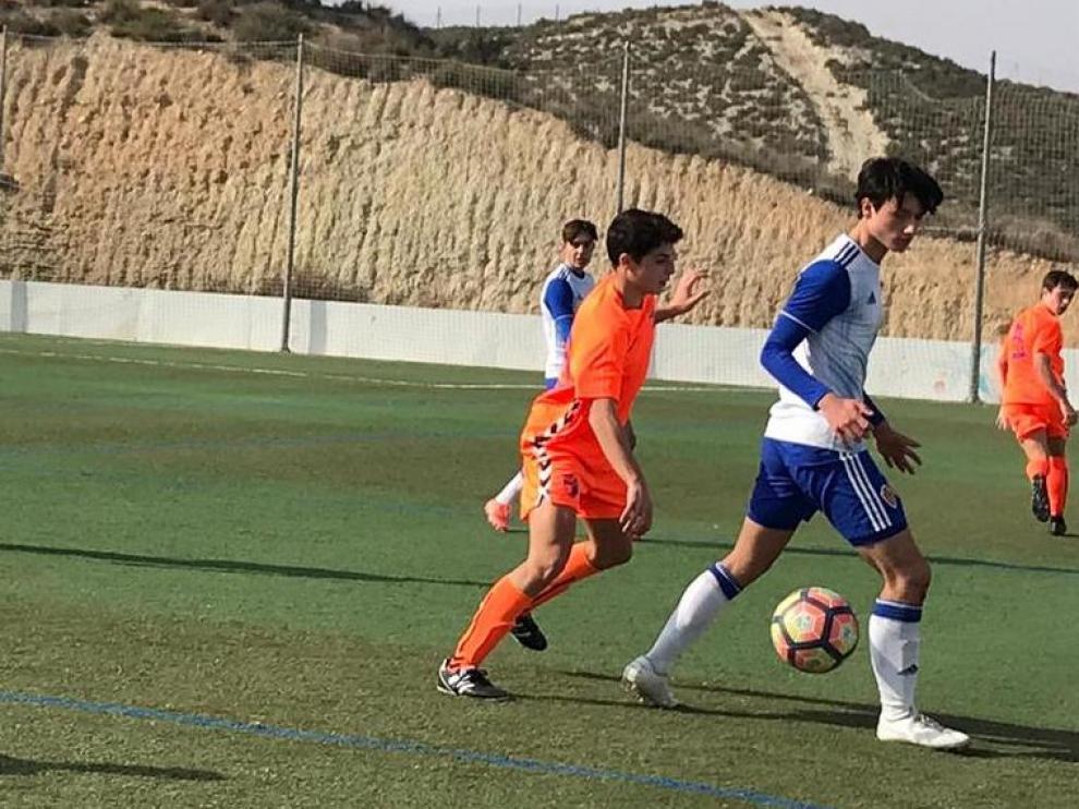 Fútbol. DHC- Real Zaragoza vs. CD Ebro.