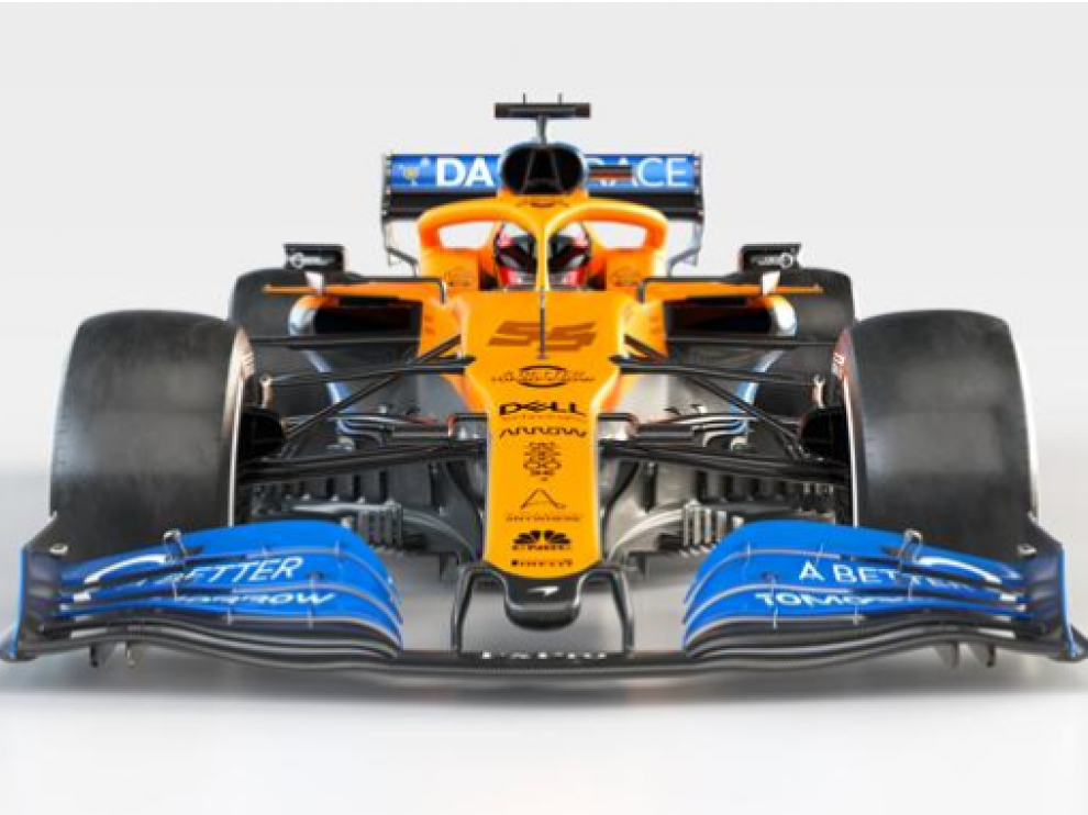 Nuevo McLaren MCL35