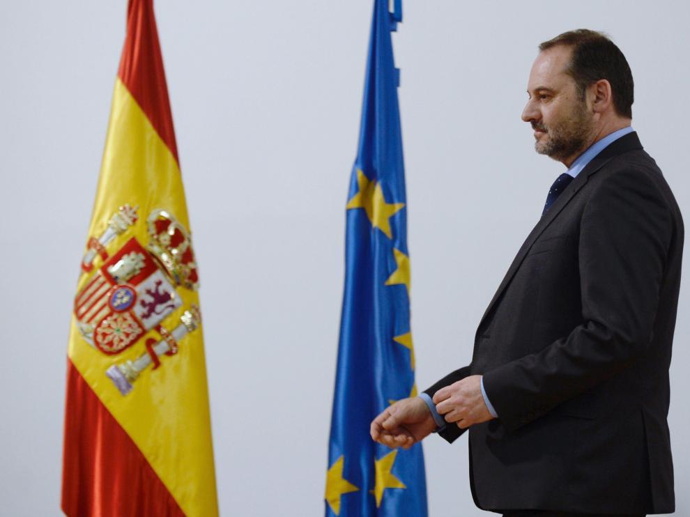 Ábalos, este jueves, en la toma de posesión del nuevo delegado del Gobierno de Castilla y León