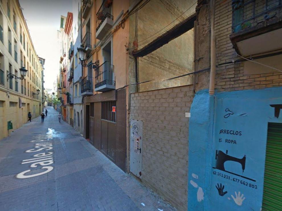 Imagen del número 92 de la calle Boggiero de Zaragoza.