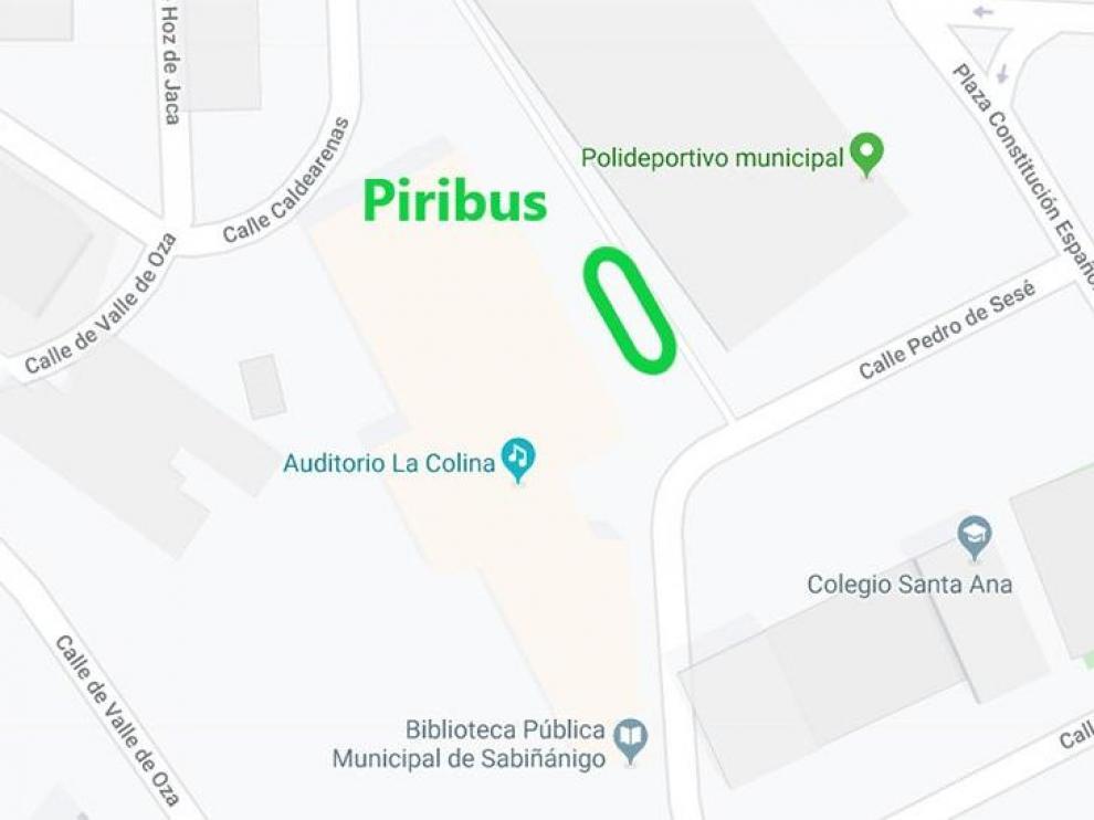 El Piribus estacionará en la plaza de la Constitución de Sabiñánigo del 3 al 15 de marzo.