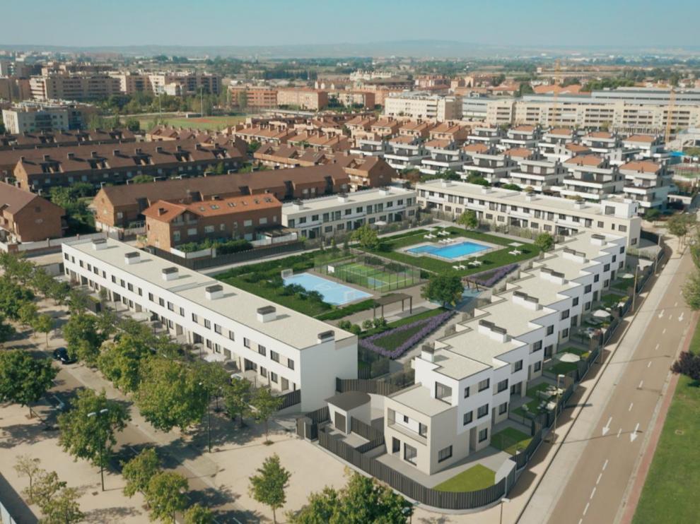 Urbanización situada en un entorno único en donde las obras ya se han iniciado.