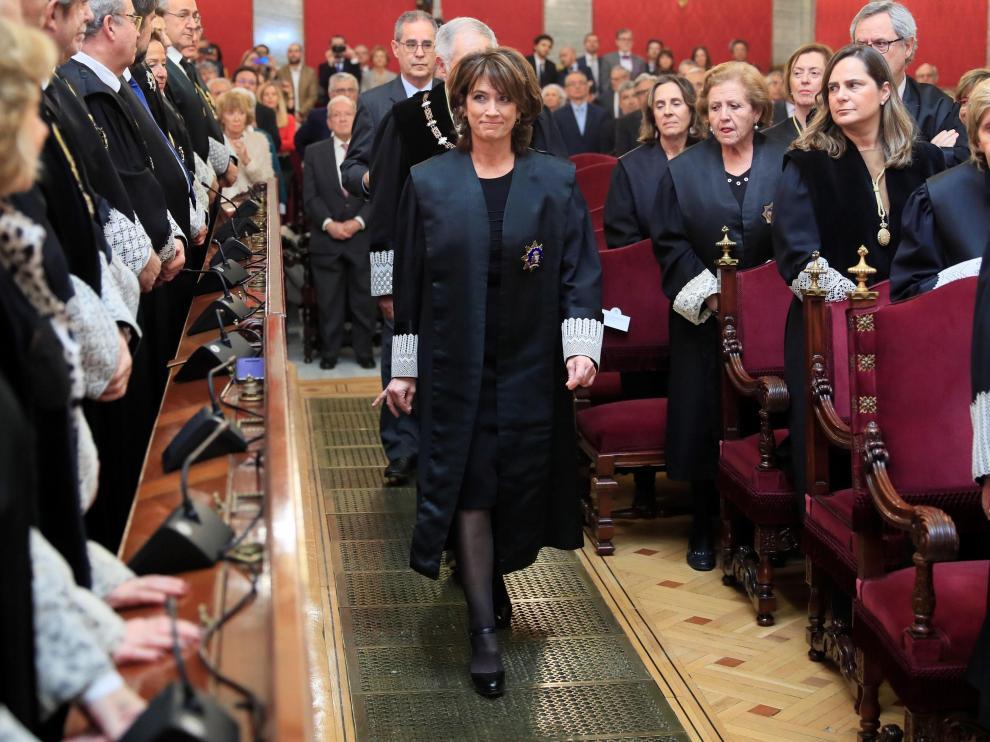 La nueva Fiscal General del Estado, Dolores Delgado jura su cargo