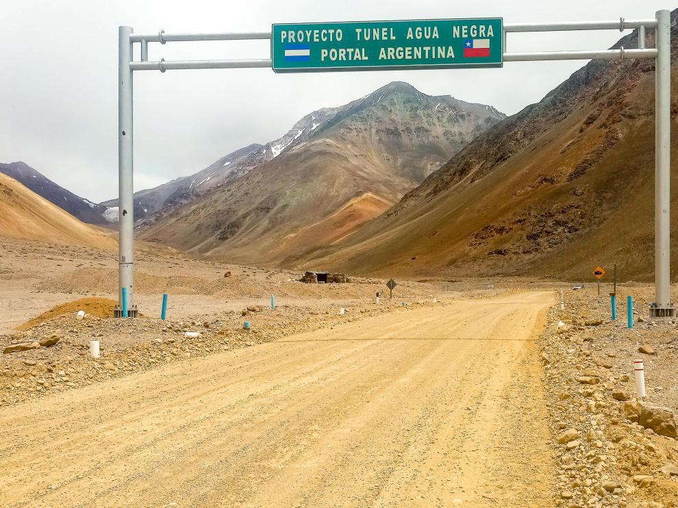 El laboratorio Andes se instalará en el túnel Agua Negra que unirá las provincias de San Juan (Argentina) con la región de Coquimbo (Chile).