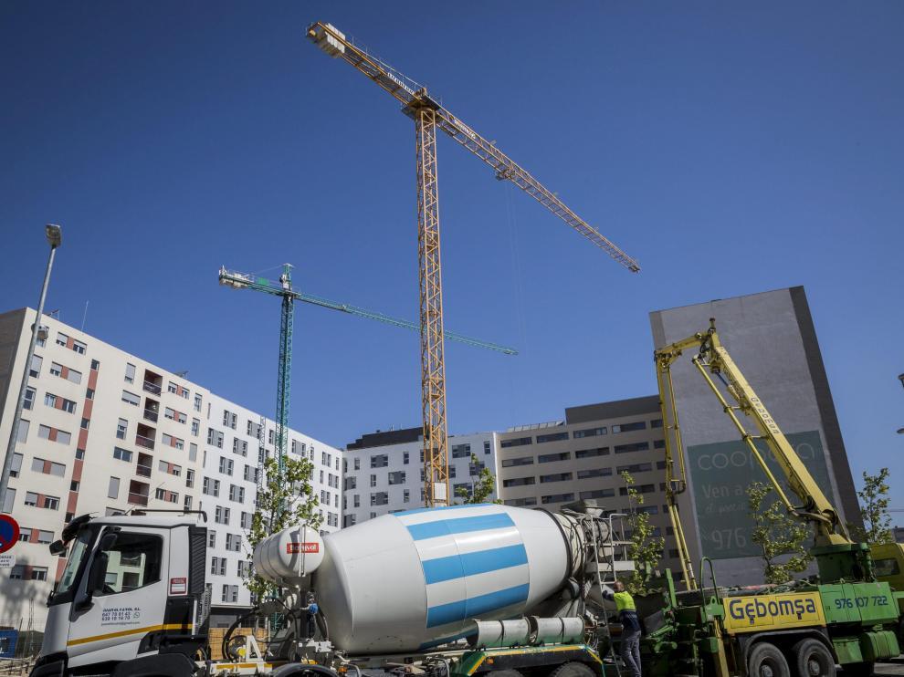 Los nuevos barrios del sur de Zaragoza están sufriendo un gran desarrollo en la última década.