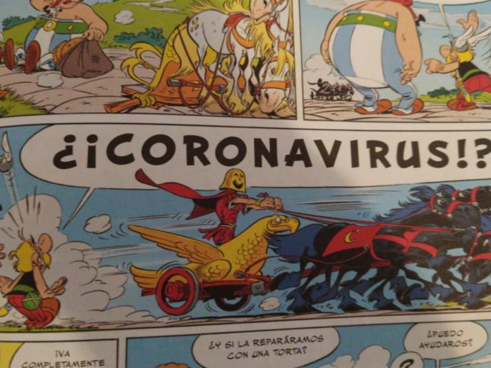 Asterix y Obélix contra Coronavirus