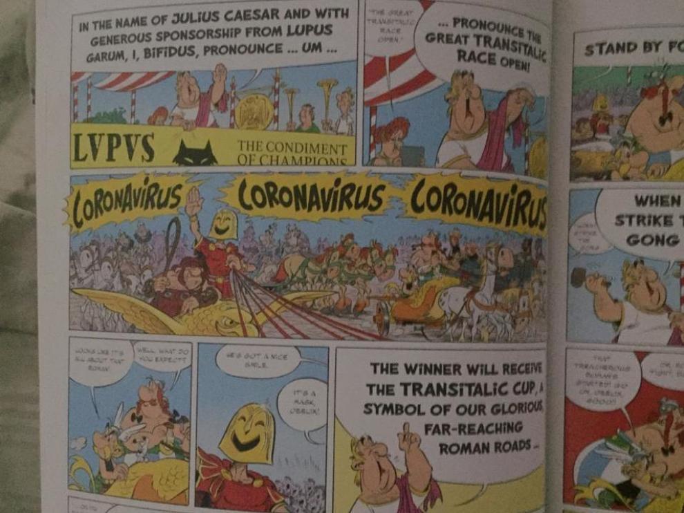 coronavirus en Asterix