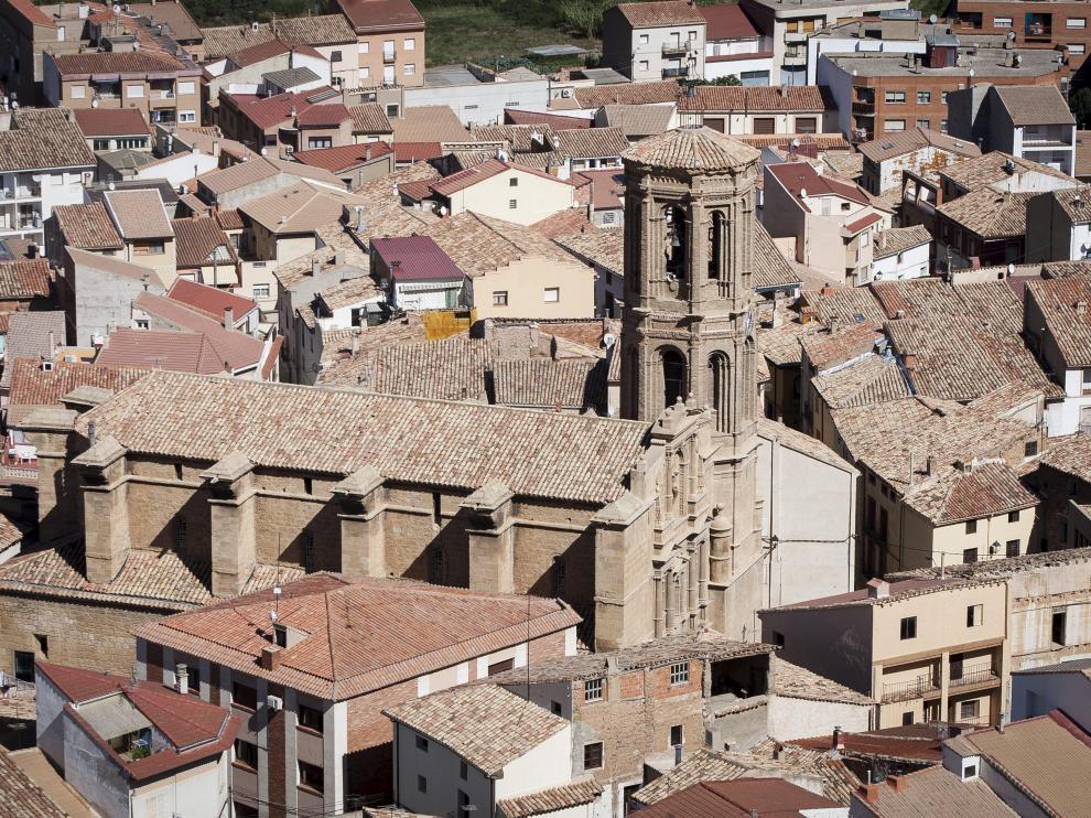 La iglesia de Andorra, en el centro del casco antiguo.