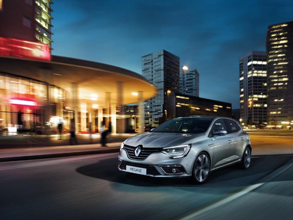 El Renault Megane es uno de los modelos que se encuentran disponibles en la promoción.
