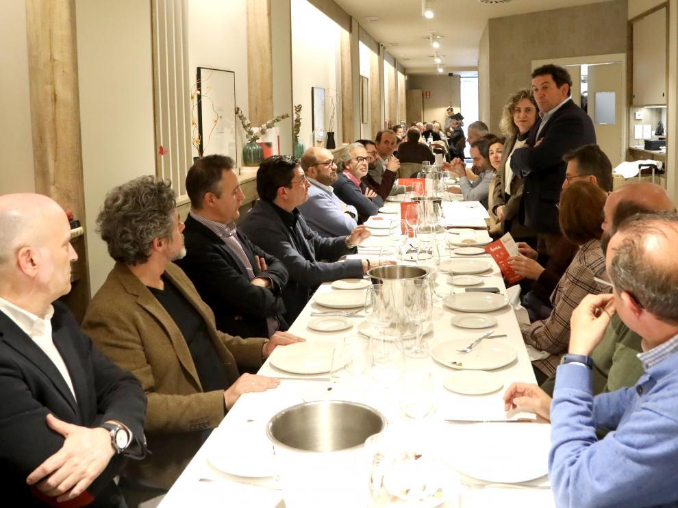 Las jornadas de maridaje comenzaron el pasado 5 de marzo en el restaurante Urola, con vino de Bodegas Borsao.