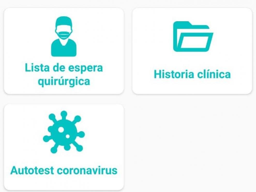 Aplicación Salud Informa.