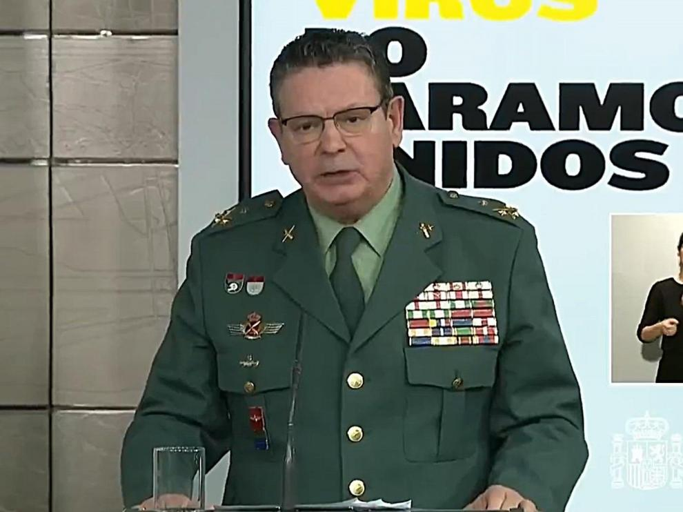 El DAO de la Guardia Civil Laurentino Ceña