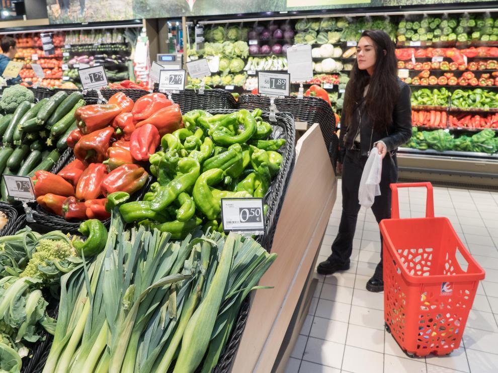 Las ventas de alimentos de origen local en Aragón de la cooperativa han crecido un 39% en los últimos tres años.