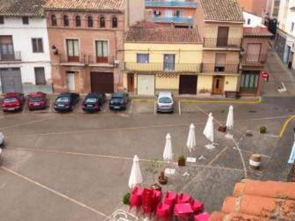 Las vacías calles y plazas de La Almunia son el leitmotiv del concurso.