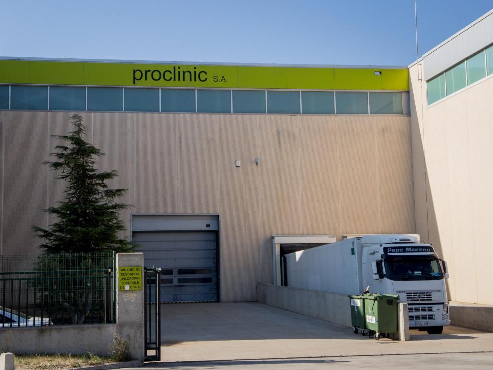 Imagen de las instalaciones de Proclinic, en el polígono Plaza