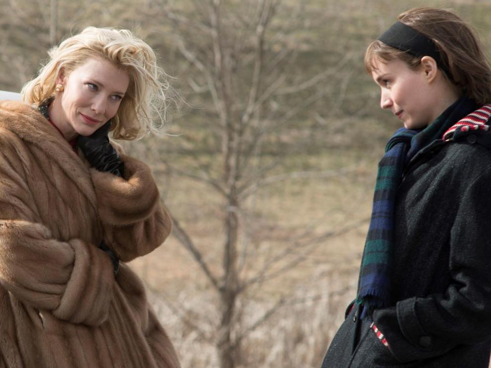 Una escena de la película 'Carol', de Todd Haynes.
