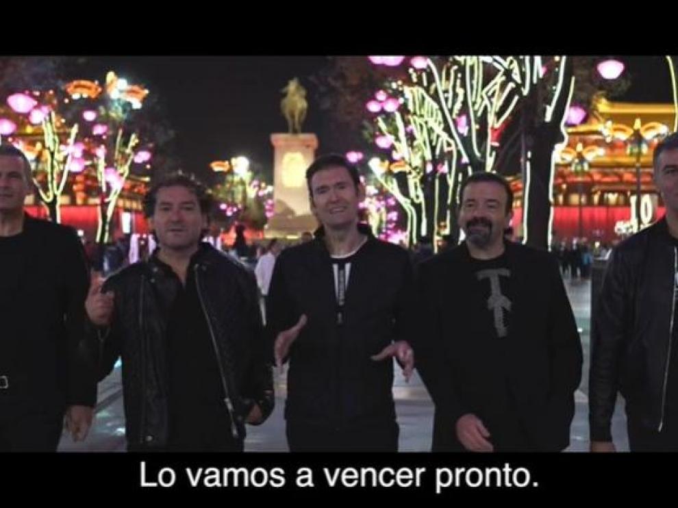 Captura del vídeo de b Vocal.