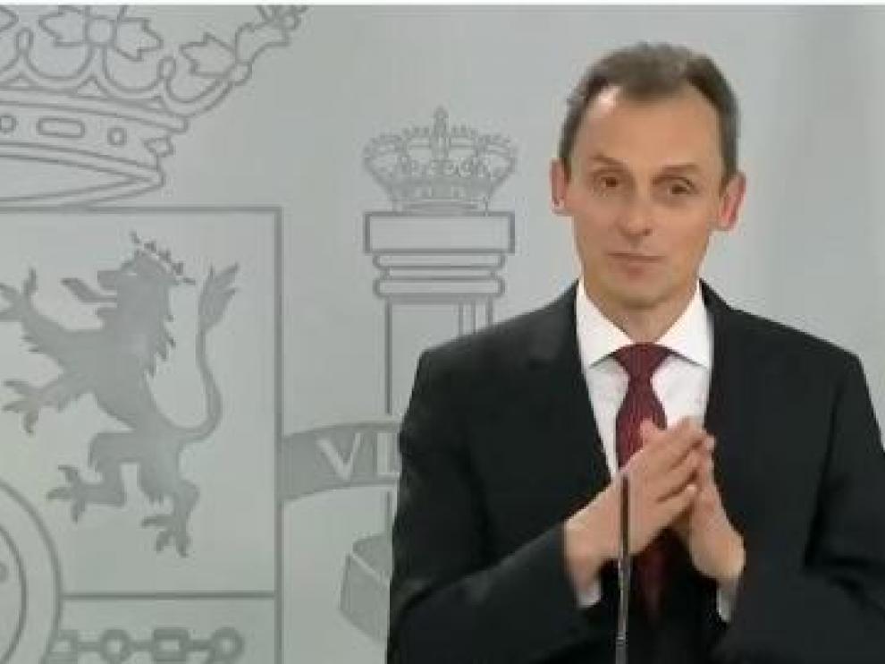 Habla Pedro Duque, ministro de Ciencia e Innovación
