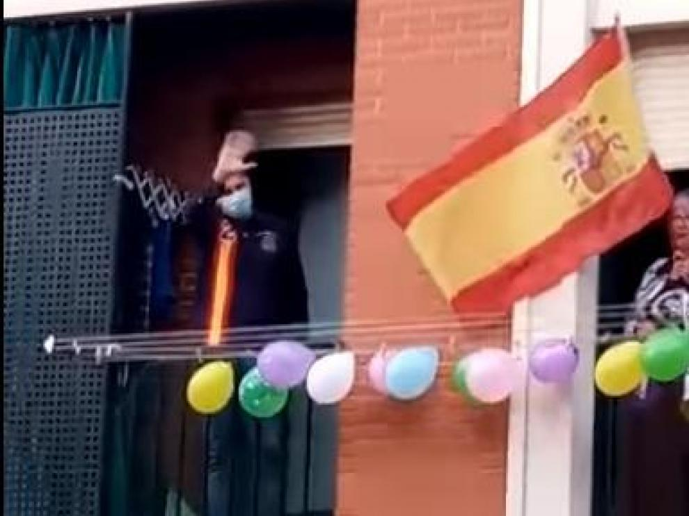 Guardia Civil destinado en Casetas, homenajeado en Logroño.