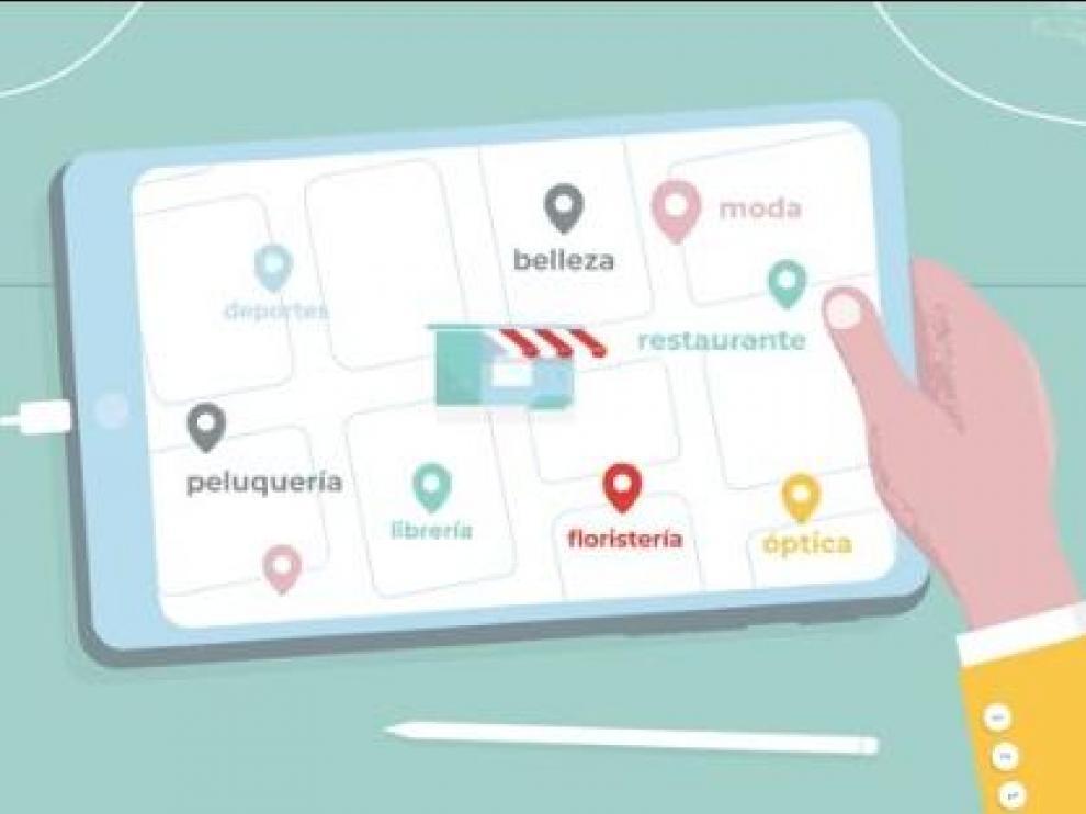 zerca! es una iniciativa que impulsa al comercio de proximidad en su transformación digital