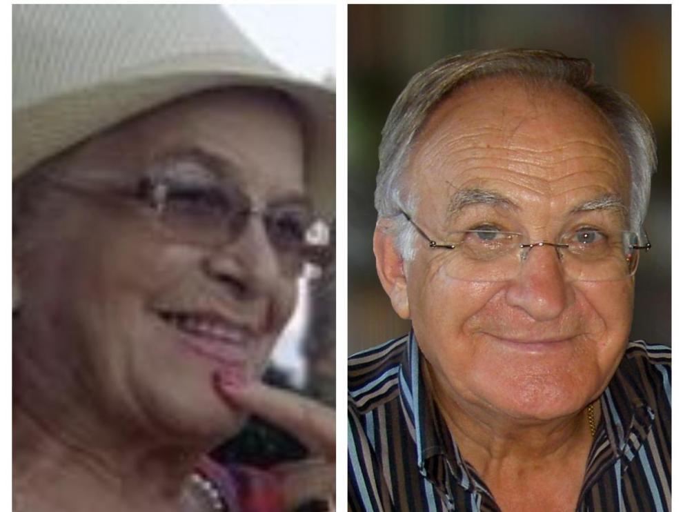 Los hermanos Purificación y Luis Arranz murieron en Zaragoza a primeros de abril con apenas 48 horas de diferencia.