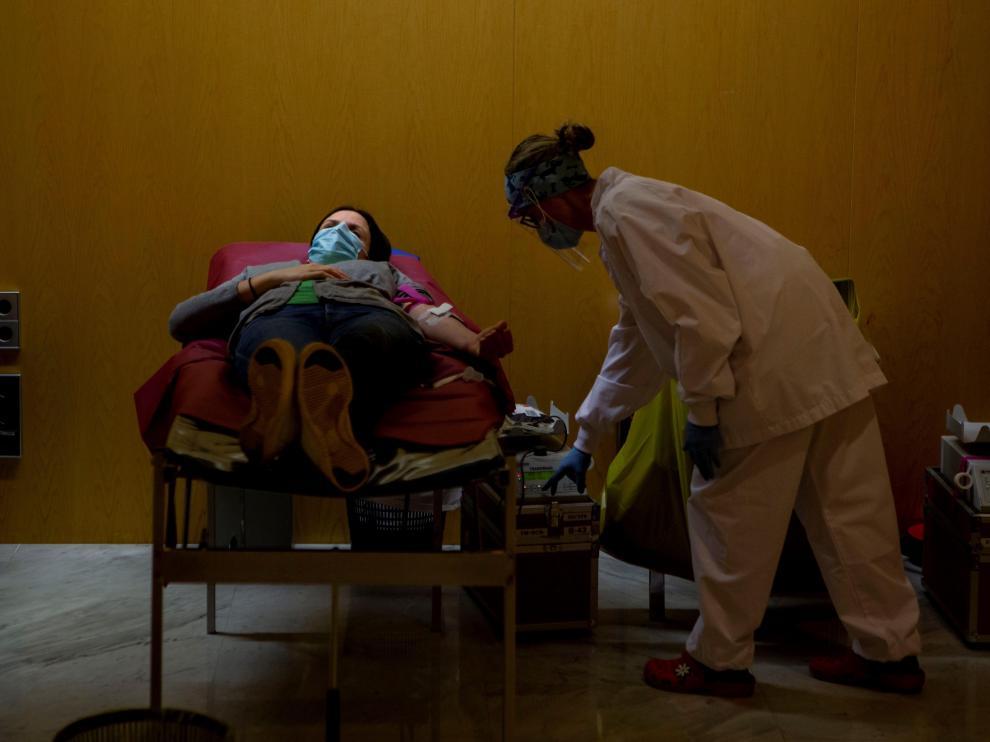 """Las donaciones de sangre son fundamentales para la """"nueva normalidad"""" en los hospitales."""