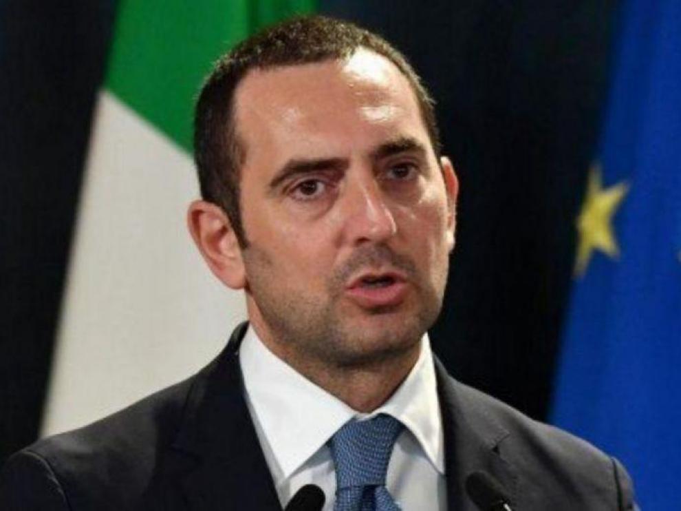 Vincenzo Spadafora, ministro de Deportes del Gobierno de Italia
