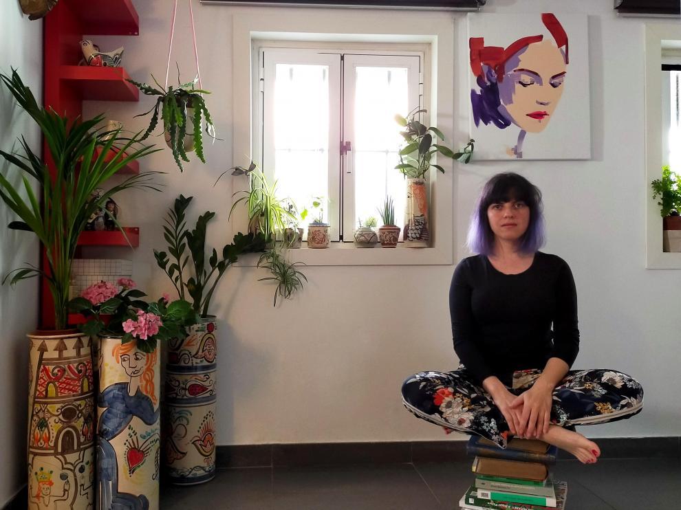 Entrevista con Lorena Domingo. Pintora y ceramista.
